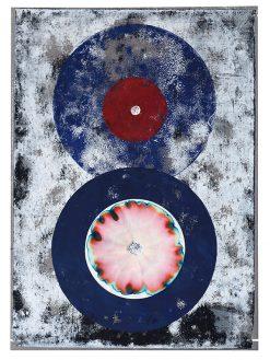 Chromatische Akzidenz, 2019, Linoldruck, 45 x 32 cm